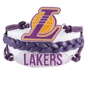 Ashley Bridget NBA LA Lakers Bracelet NIB